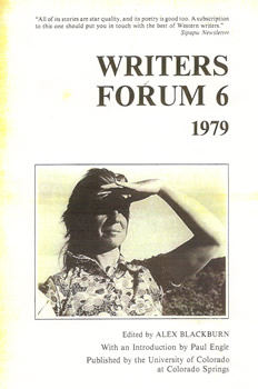 Writers' Forum Volume 6 by Alexander Blackburn