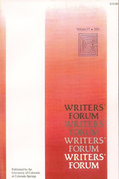 Writers' Forum Volume 27 by Alexander Blackburn